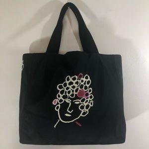Kate Spade x Maira Kalman Nylon Tote Bag